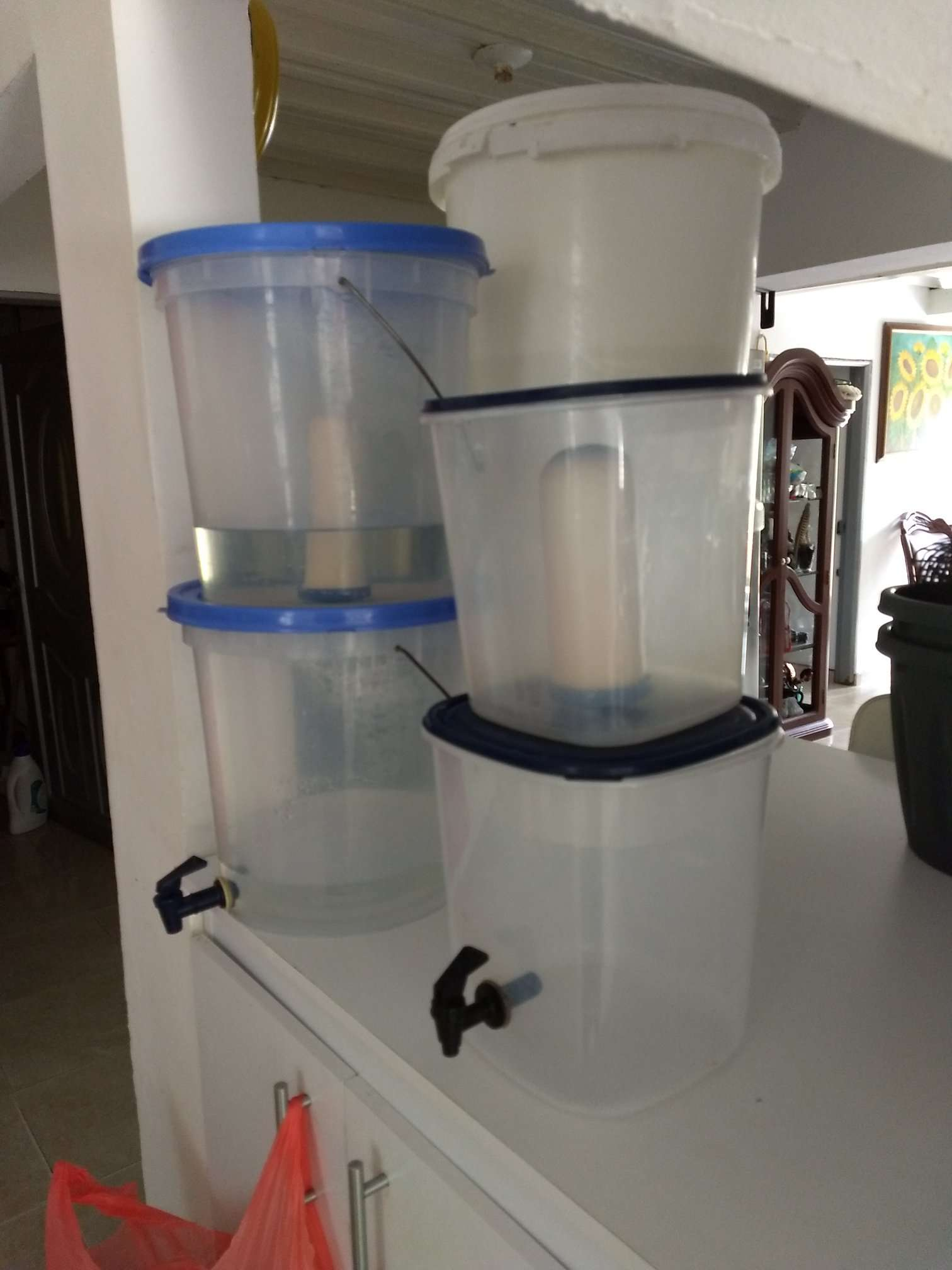 Economy Make Your Own Gravity Water Filter